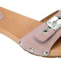 Sandalia rosa de madera de la nueva colección de Scholl para este verano 2012