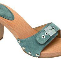 Sandalia gris de madera de la nueva colección de Scholl para este verano 2012