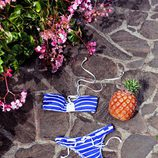 Bikini de rayas azul marino de la colección verano 2012 de Women'secret
