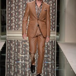 Ermenegildo Zegna en la pasarela de la Semana de la Moda masculina de Milán