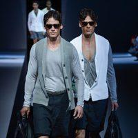 Emporio Armani apuesta por los complementos en la Semana de la Moda masculina de Milán