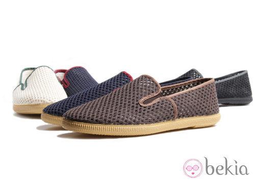 Zapatillas de rejilla de la colección Victoria by BAMBA verano 2012