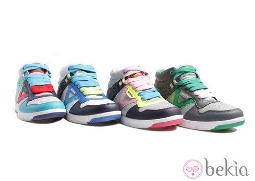 Zapatillas de deporte de la colección Victoria verano 2012
