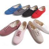 Zapatillas Vitoria monocromáticas colección verano 2012