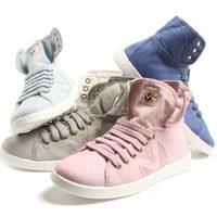 Botas de algodón en tonos pasteles de la colección Victoria verano 2012