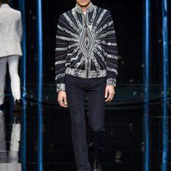 Roberto Cavalli en la Semana de la Moda masculina de Milán. Primavera/verano 2013