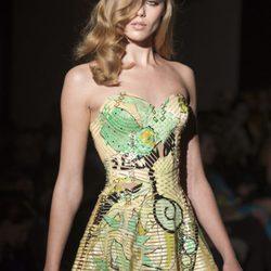 Atelier Versace en la Pasarela de la Alta Costura en parís