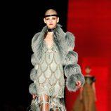 Jean Paul Gaultier apuesta por la tendencia flapper en la Pasarela de la Alta Costura en París otoño/invierno 2012/2013