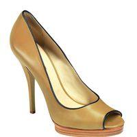 Zapatos peeptoes de la nueva colección de Longchamp para este verano 2012