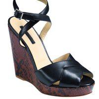 Zapatos de cuña de la nueva colección de Longchamp para este verano 2012