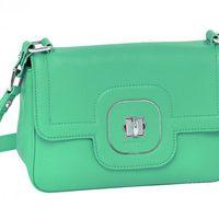 Bolso verde agua de la nueva colección de Longchamp para este verano 2012