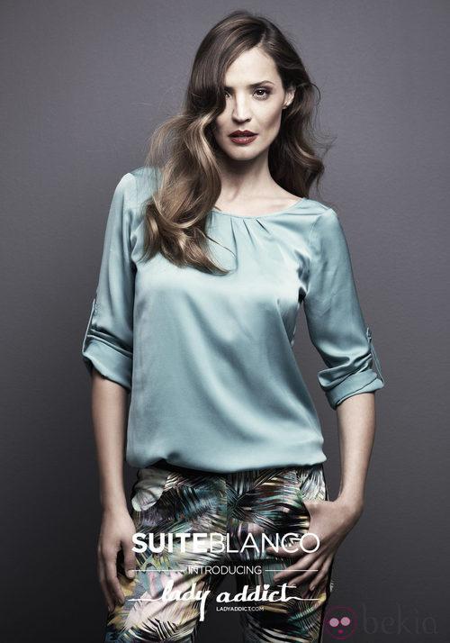 Lady Addict, imagen de la nueva campaña de Suiteblanco para otoño de 2012