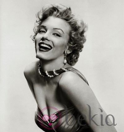 La actriz Marilyn Monroe en 1955