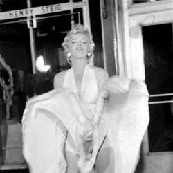 Marilyn en una conocida escena de la película 'La tentación vive arriba'