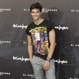 Javier de Miguel en el estreno de 'El caballero oscuro: la leyenda renace' en Madrid