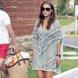 Paula Echevarría con un look muy playero de vacaciones en Marbella