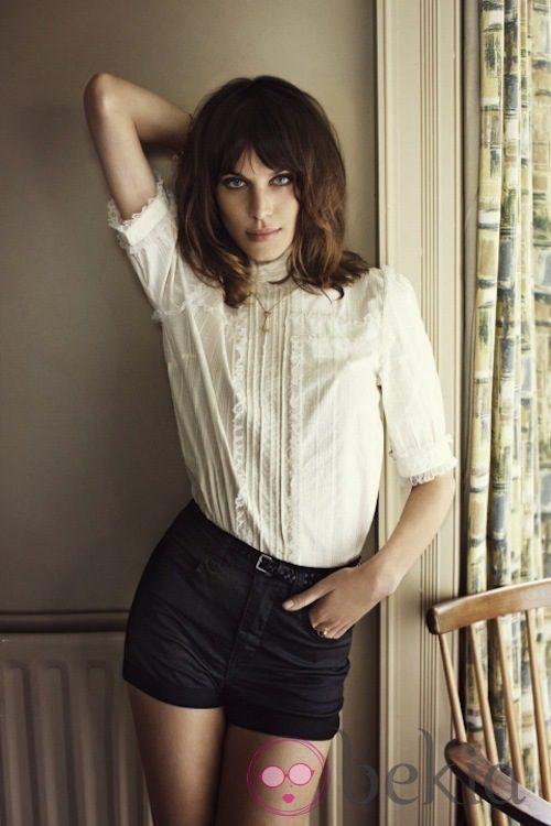 Alexa Chung, imagen de la colección otoño/invierno 2012/2013 de Vero Moda