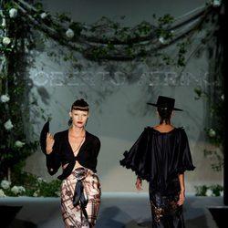 Aire flamenco en la colección primavera-verano 2013 de Roberto Verino