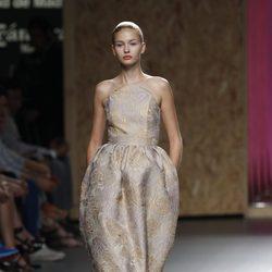 Vestido estampado entubado en los tobillos de la colección primavera-verano 2013 de Duyos