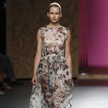 Vestido con estampado floral de la colección primavera-verano 2013 de Duyos