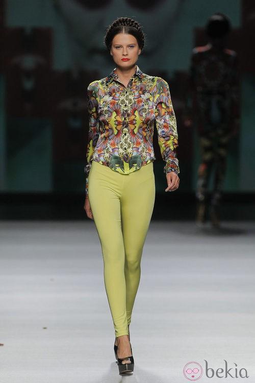 Camisa estampada de Maya Hansen, colección primavera-verano 2013