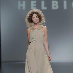 Vestido largo de Teresa Helbig, colección primavera/verano 2013