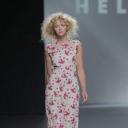 Vestido de gasa de Teresa Helbig, colección primavera/verano 2013