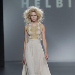 Falda larga tailhem  de Teresa Helbig, colección primavera/verano 2013