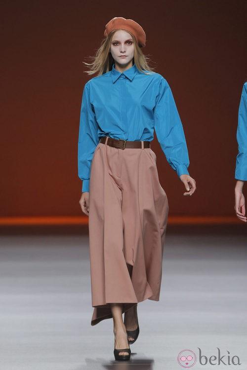 Camisa turquesa de Lemoniez, colección primavera/verano 2013