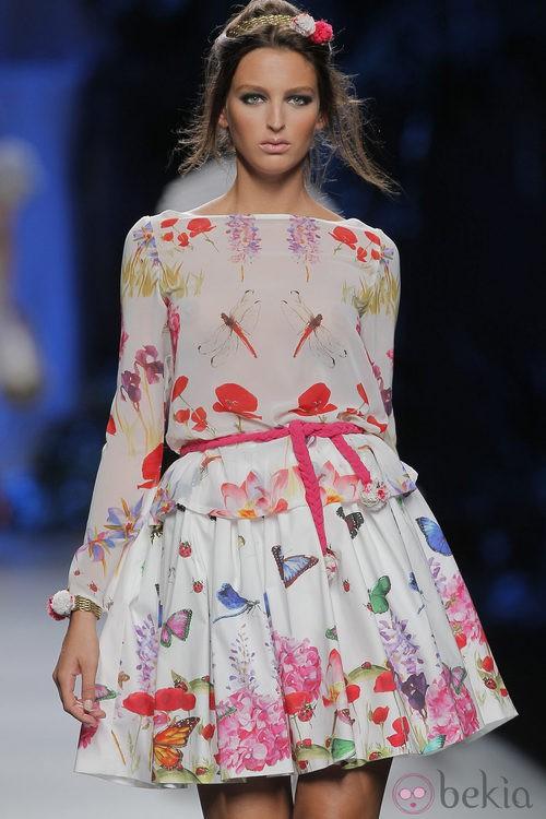 Camisa de gasa de Francis Montesinos, colección primavera/verano 2013