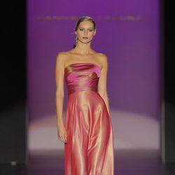 Vestido de noche de Hannibal Laguna, colección primavera/verano 2013