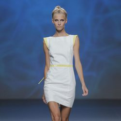 Vestido de Sara Coleman, colección primavera/verano 2013