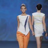 Pantalón naranja de Sara Coleman, colección primavera/verano 2013