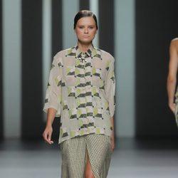 Camisa estampada de Martín Lamothe, colección primavera/verano 2013