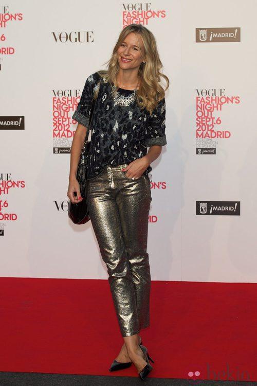 María León en la Vogue Fashion's Night Out 2012 en Madrid