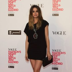 Ana de Armas en la Vogue Fashion's Night Out 2012 en Madrid