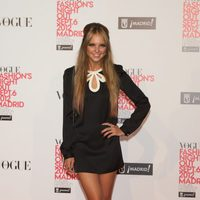 Laura Hayden en la Vogue Fashion's Night Out 2012 en Madrid