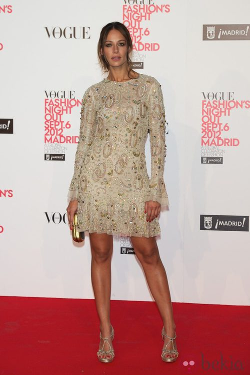 Eva González en la Vogue Fashion's Night Out 2012 en Madrid