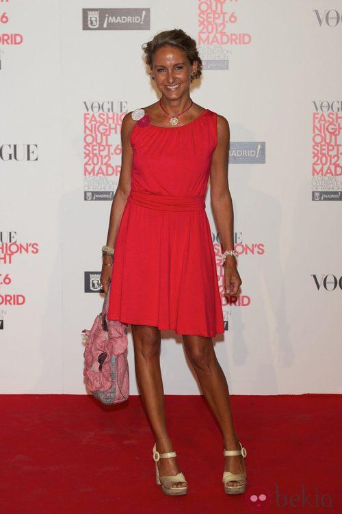 Carla Royo Villanova en la Vogue Fashion's Night Out 2012 en Madrid