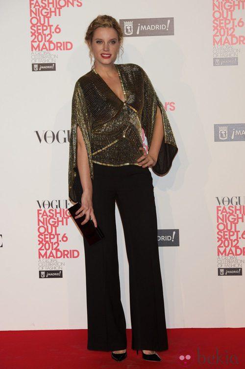 Carolina Bang en la Vogue Fashion's Night Out 2012 en Madrid
