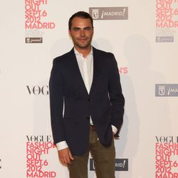 Ion Fiz en la Vogue Fashion's Night Out 2012 en Madrid
