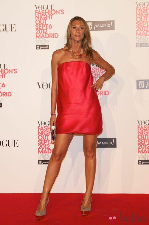 Monica Pont en la Vogue Fashion's Night Out 2012 en Madrid