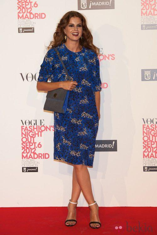 Mariam Aguilera en la Vogue Fashion's Night Out 2012 en Madrid