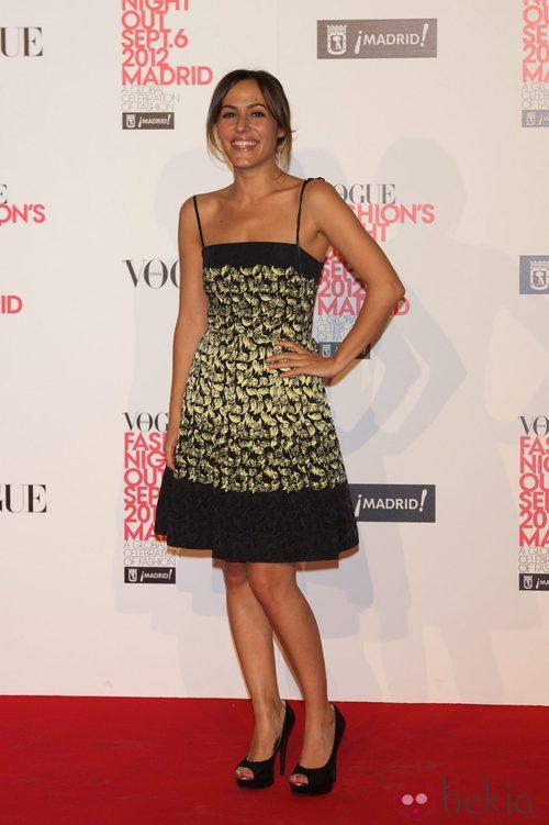Irene Montalà en la Vogue Fashion's Night Out 2012 en Madrid