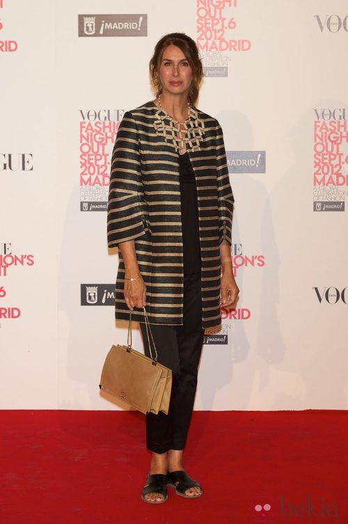 Ana García Siñeriz en la Vogue Fashion's Night Out 2012 en Madrid