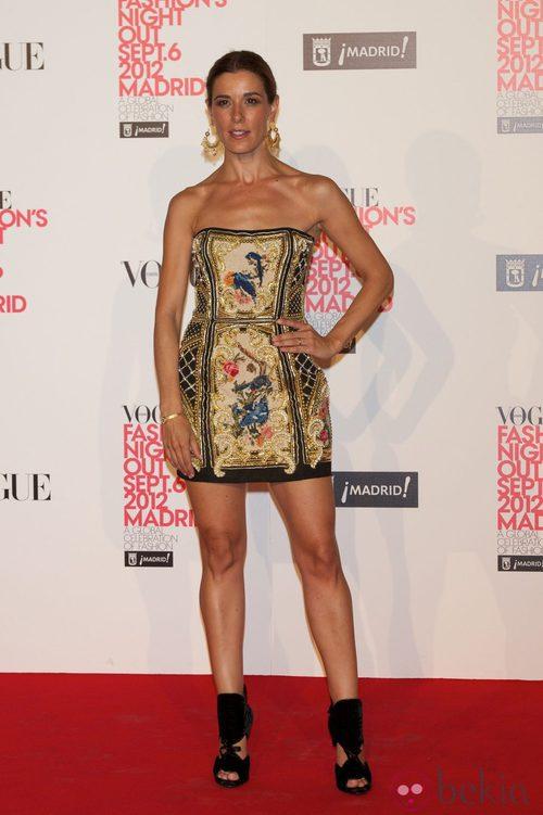 Raquel Sánchez-Silva en la Vogue Fashion's Night Out 2012 en Madrid