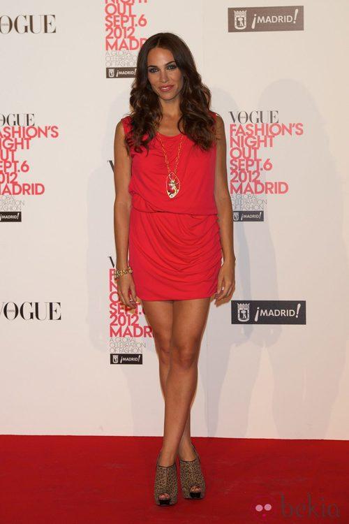 Nerea Garmendia en la Vogue Fashion's Night Out 2012 en Madrid