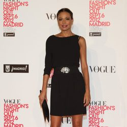 Juncal Rivero en la Vogue Fashion's Night Out 2012 en Madrid