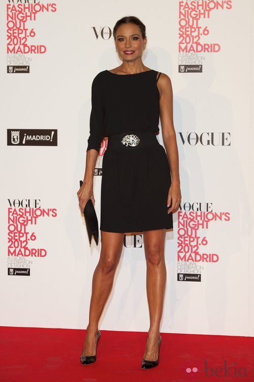 Juncal Rivero en la Vogue Fashion's Night Out 2012 en Madrid