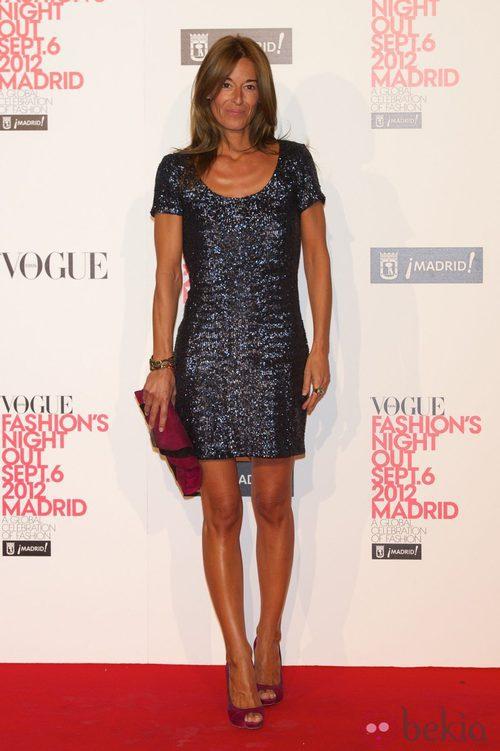 Mónica Martín Luque en la Vogue Fashion's Night Out 2012 en Madrid